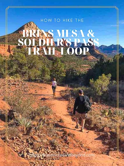 Hiking the Brins Mesa and Soldier's Pass Trail loop