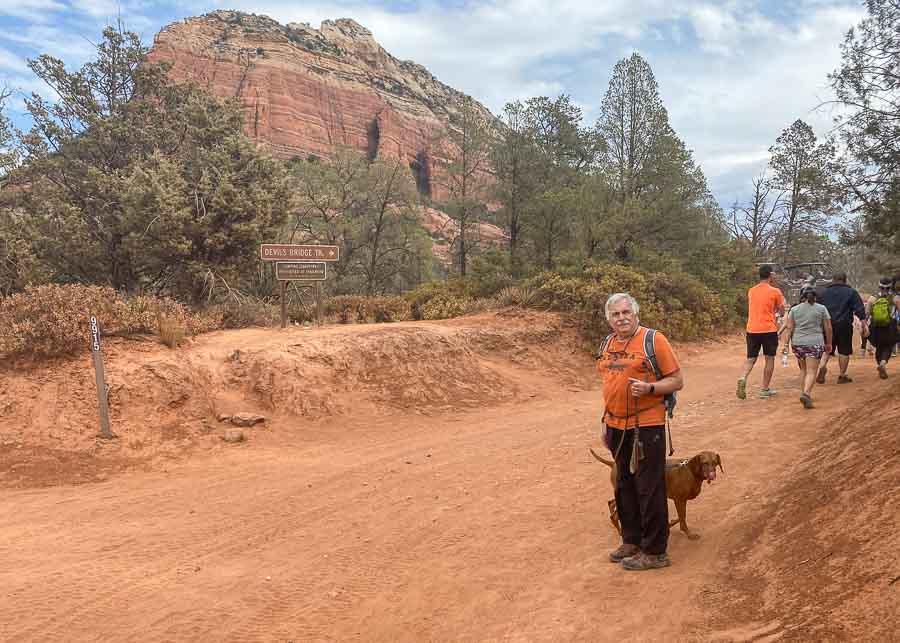 Hiking the Devil's Bridge Trail, Sedona