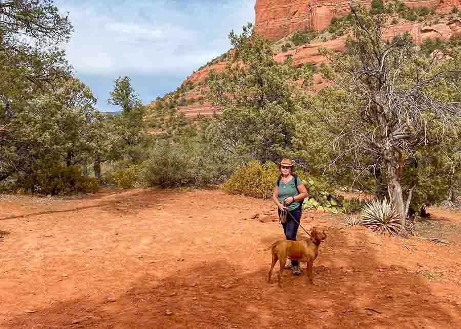 Hiking the Devil's Bridge Trail Sedona