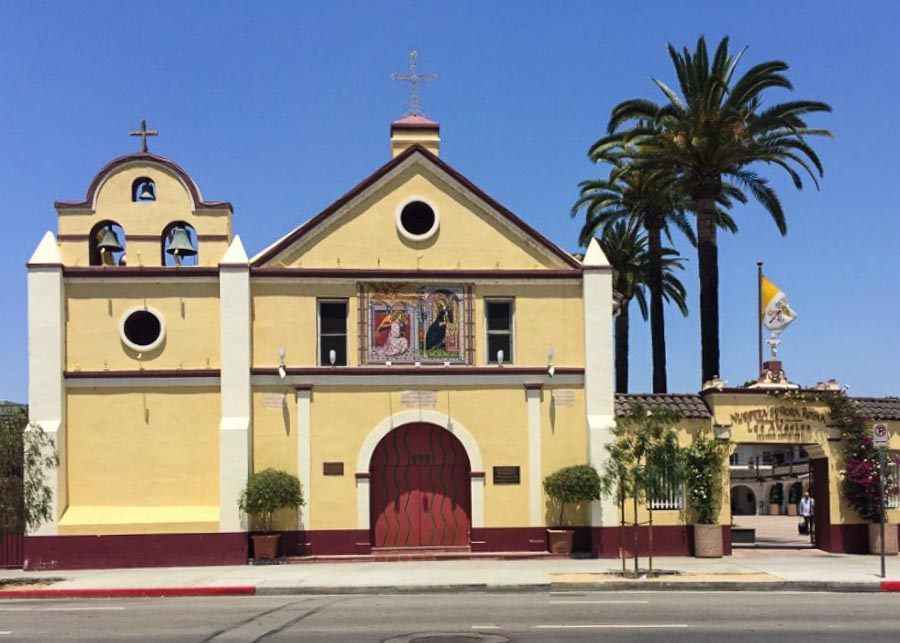 """""""La Placita"""" the first church built in Los Angeles"""