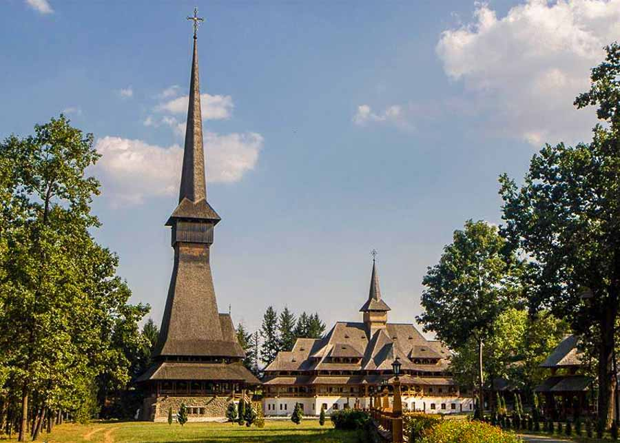 Sapînta-Peri Monastery in Maramures