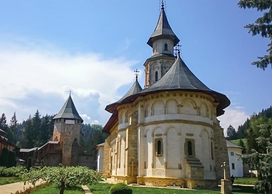 Putna Monastery in Bucovina, Romania