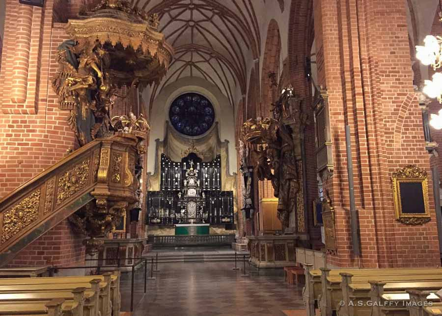Things to do in Stockholm in a week: visit the Storkyrkan Cathedral