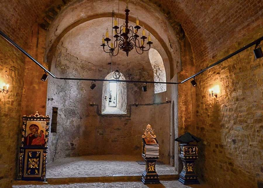 The Chapel inside Suceava Citadel