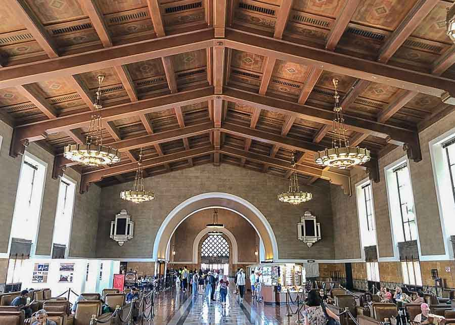 Union Station in L.A.