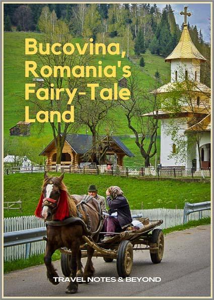 village in Bucovina Romania