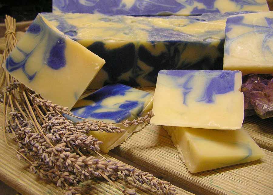French souvenirs: lavender soap