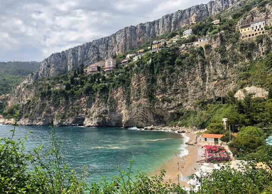 Mala, one of the best French Riviera beaches
