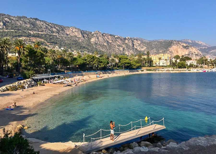Little Africa Beach on the French Riviera