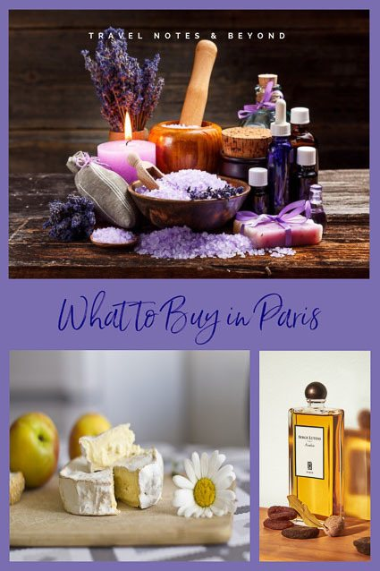 What to buy in Paris pin