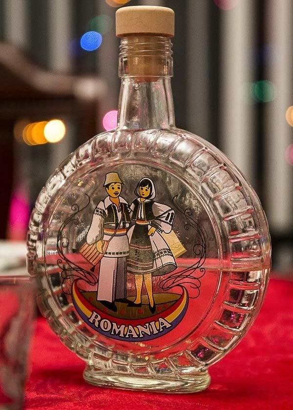 Romanian souvenir: Tuica