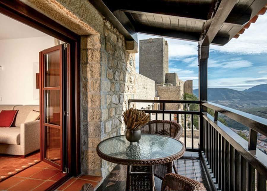 Room with balcony at Parador de Jaen