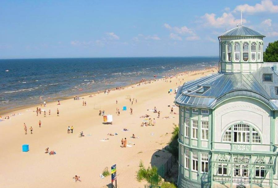 Jurmala seaside resort in Latvia