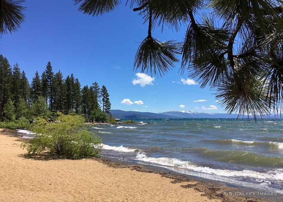 Kings Beach in Lake Tahoe
