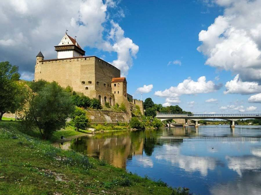 Narva Castle in Estonia