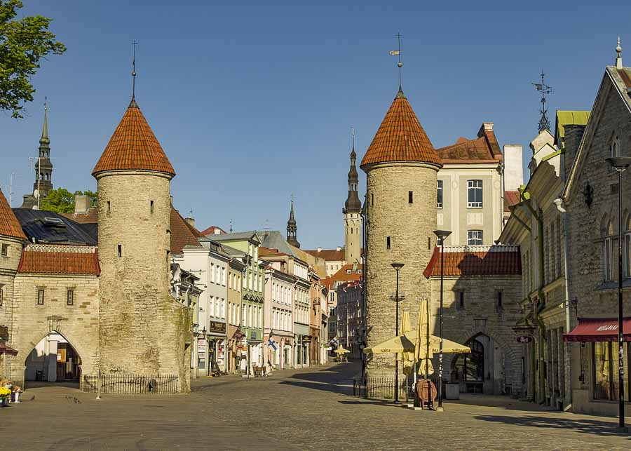 Tallinn, Estonia, one of the cheapest countries in Europe