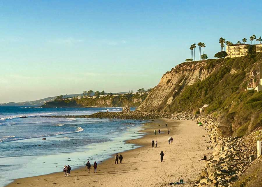vie of the borders and bluffs at Dana Point Headlands Beach tripadvisor