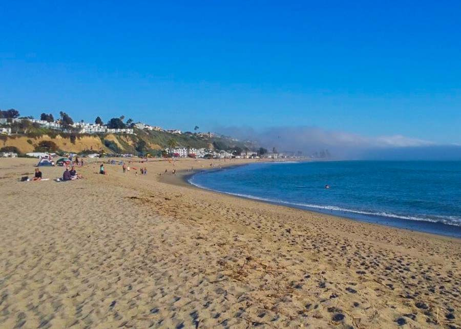 Doheny Beach in Dana Point, Orange County