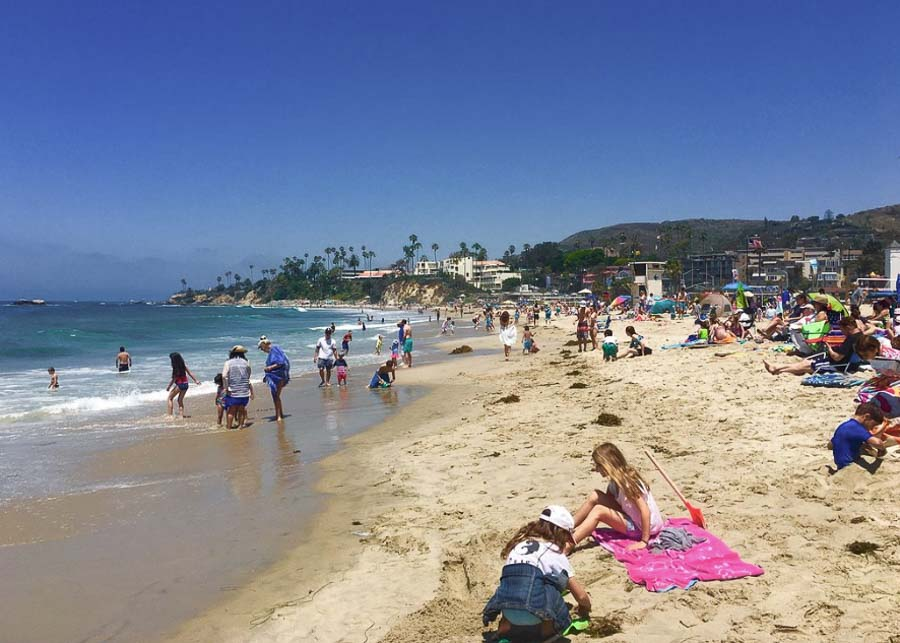 Laguna Beach in Orange County