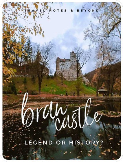 Bran Castle seen from the garden