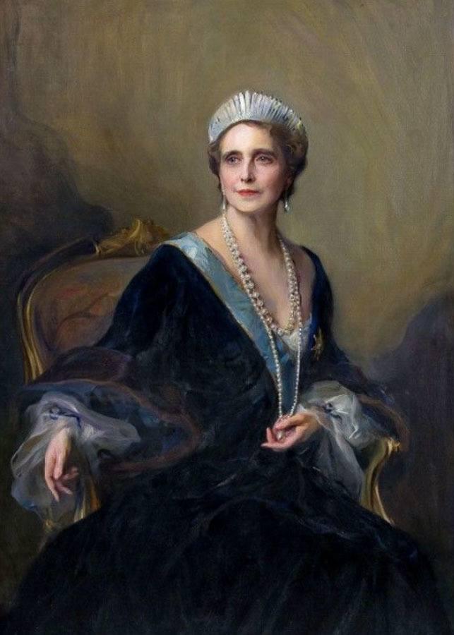 Portrait of Queen Marie of Romania