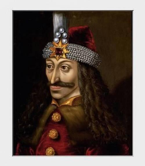 portrait of Vlad the Impaler