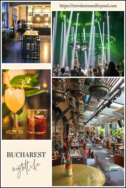 Bucharest nightlife scene