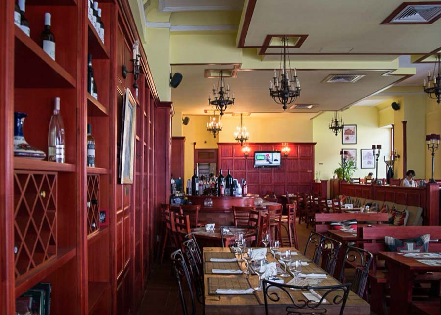 La Mama Restaurant in Bucharest