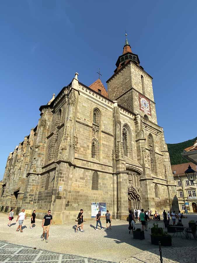 Biserica Neagra (Black Church) in Brasov