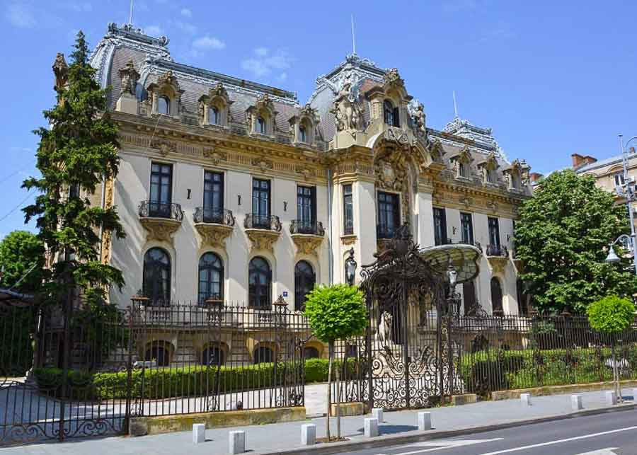 Cantacuzino Palace (currently George Enescu Museum) in Bucharest