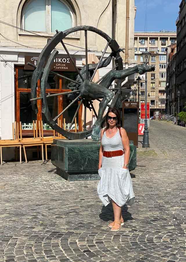 Strolling through Old Town Bucharest