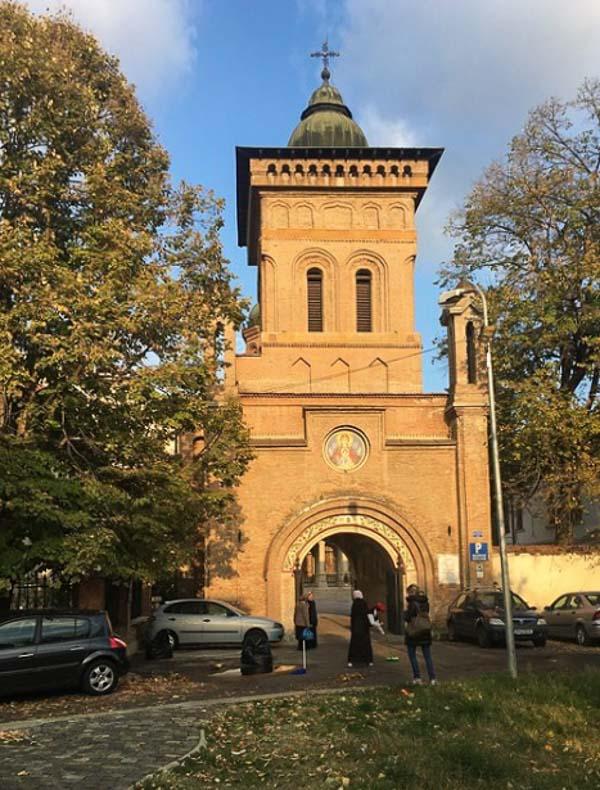 The Antim Monastery tower