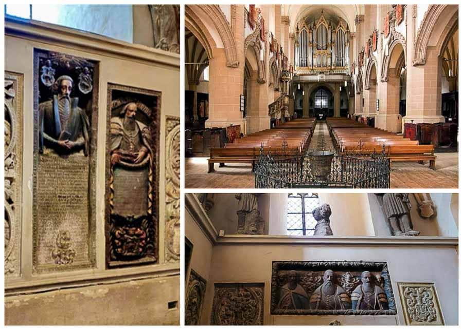Inside the Black Church in Brasov, Romania