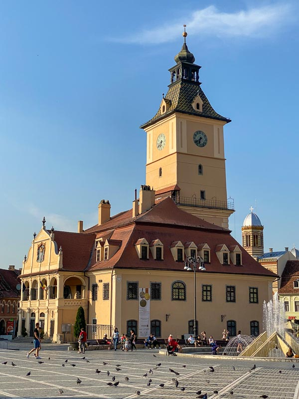 City Council Building, one of the attractions in Brasov