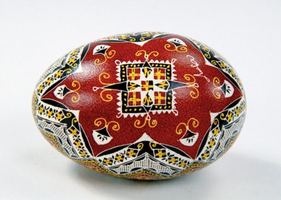 Egg from Lucia Condrea Eggs Museum