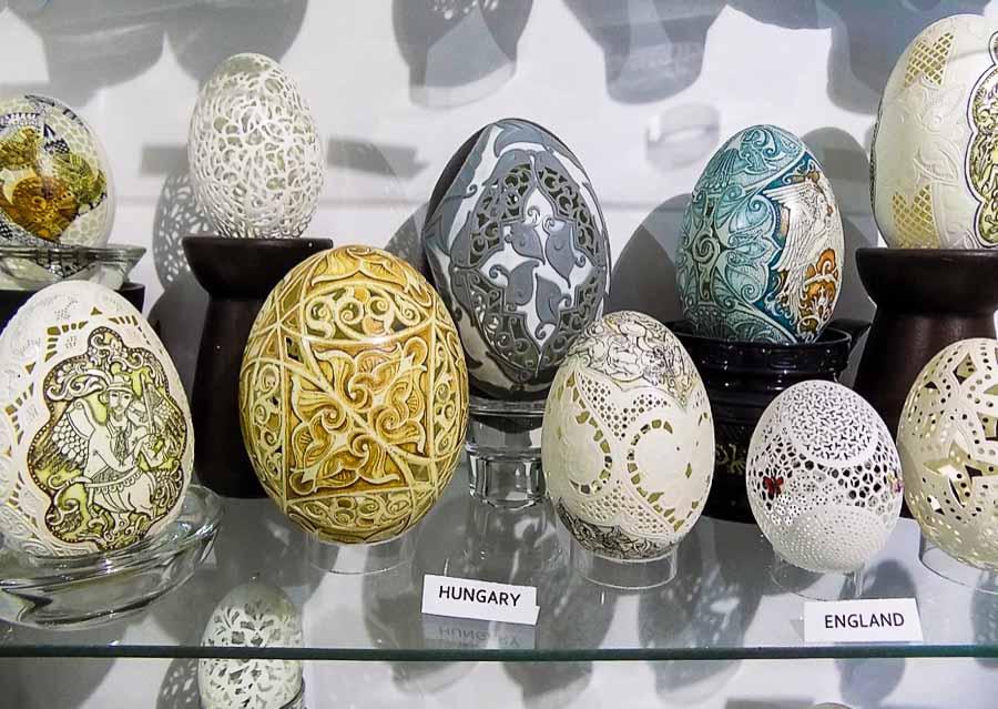 International egg collection