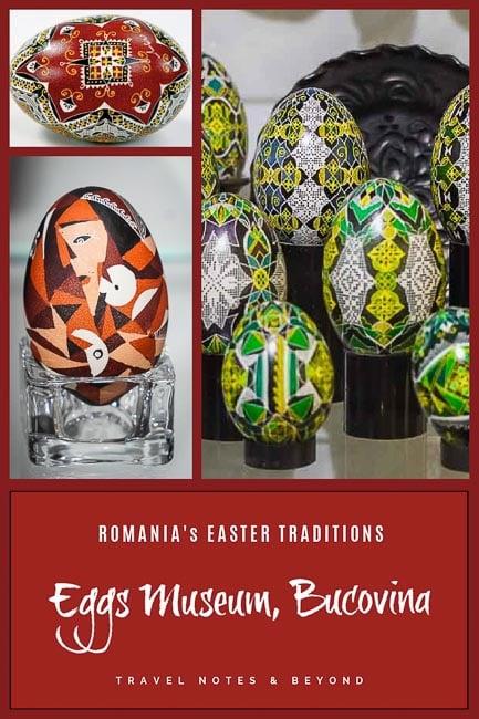 Easter Eggs Museum Bucovina