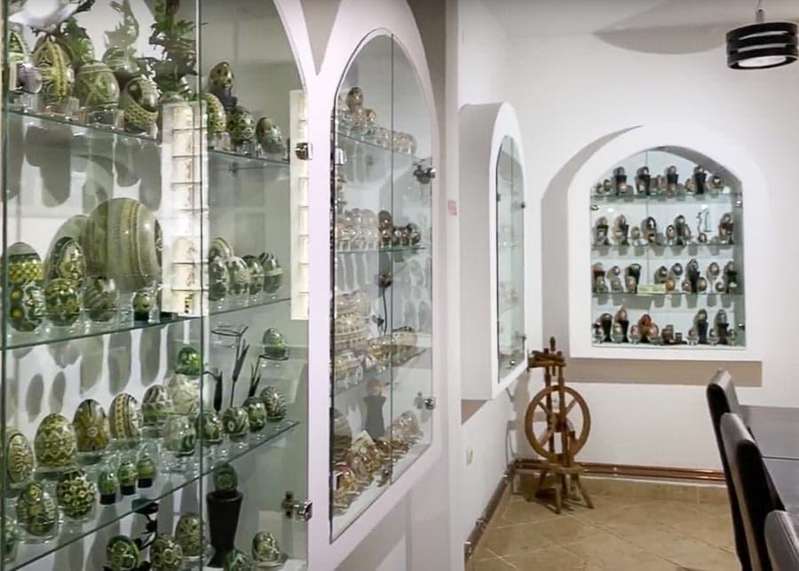 Romanian Easter Eggs Museum Lucia Condrea, in Moldovita