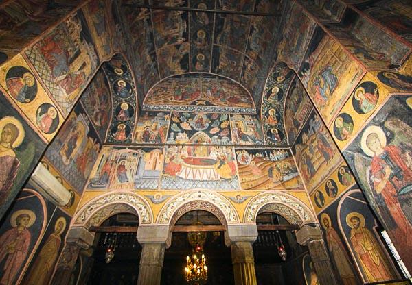 Kretzulescu Church frescos