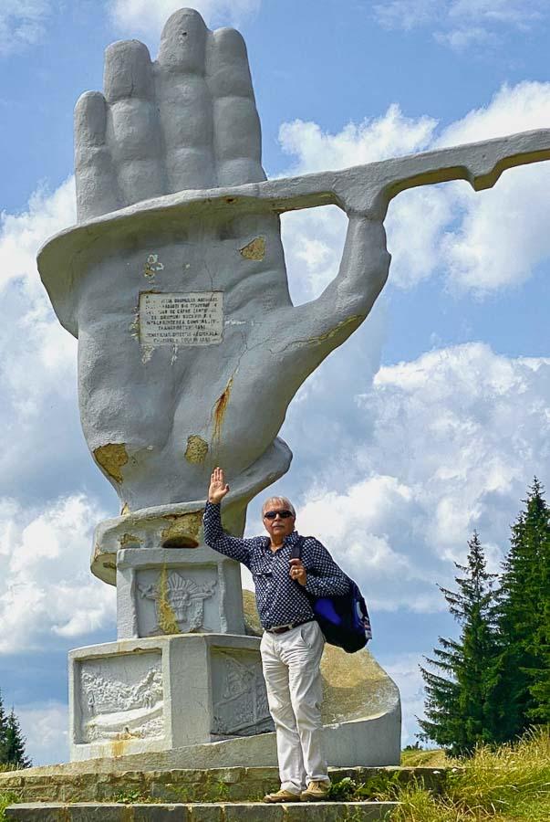 Palma monument in Bucovina, Romania