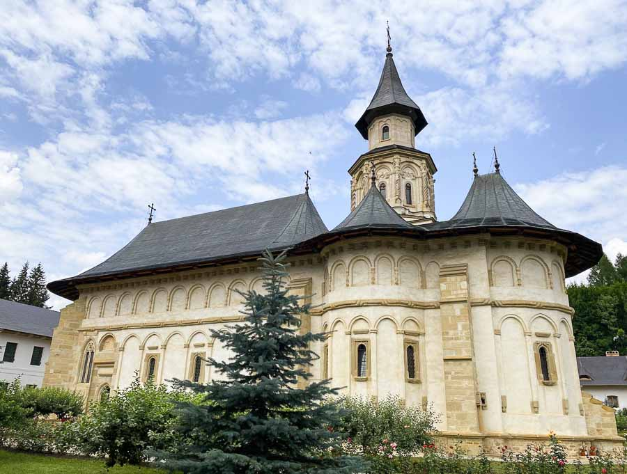 Putna, one of the most important monasteries in Romania