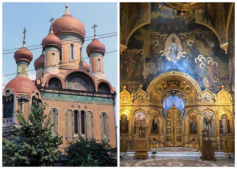 St. Nicholas Russian Church in Bucharest