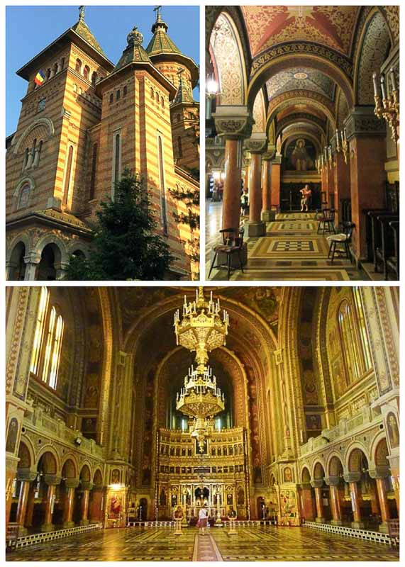 Timisoara Cathedral, one of Romania's most beautiful churches