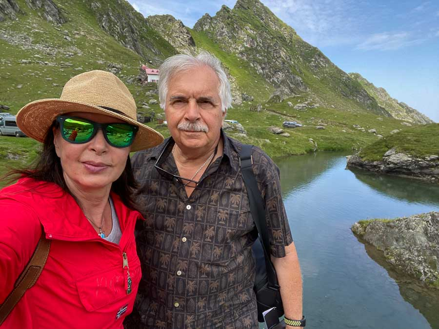 Spending time at Bzâlea Lake