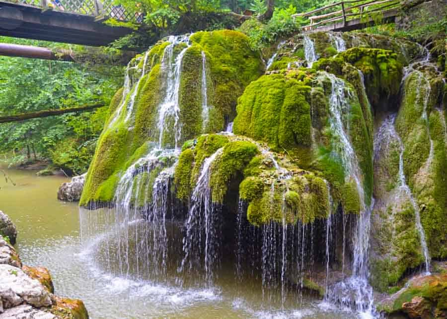 Bigār Waterfall, one of the best places to visit in Romania