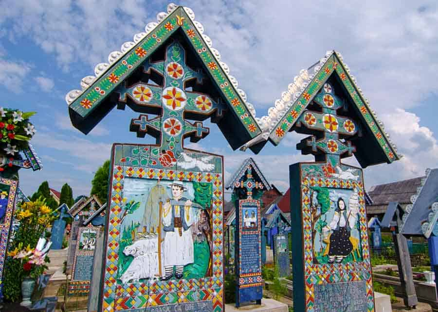 The Merry Cemetery, one of the most unique places to visit in Romania