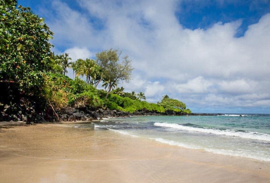 view of Hamoa Beach