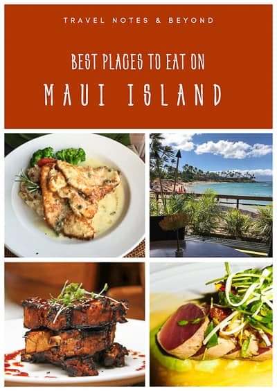 best restaurants to eat on Maui