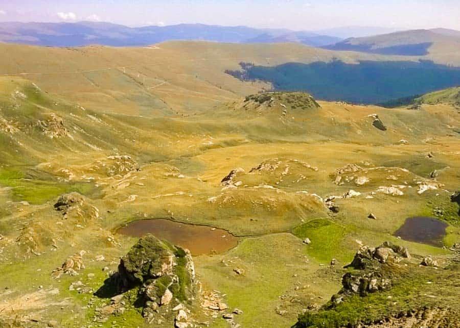 The Transalpina mountain road