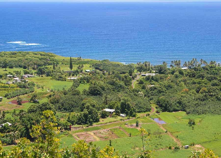 Wailua Overlook, one of the best places to stop on the Road to Hana